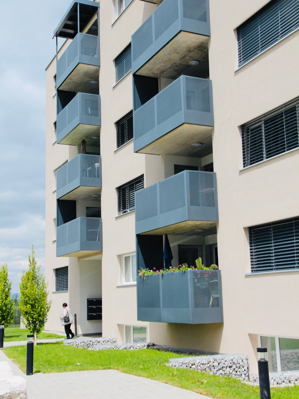 Immeuble protégé façade entrée